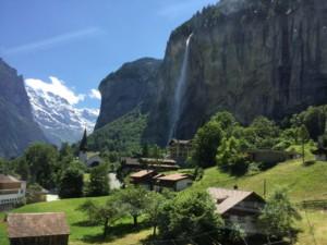 スイスとオーストリア列車の旅